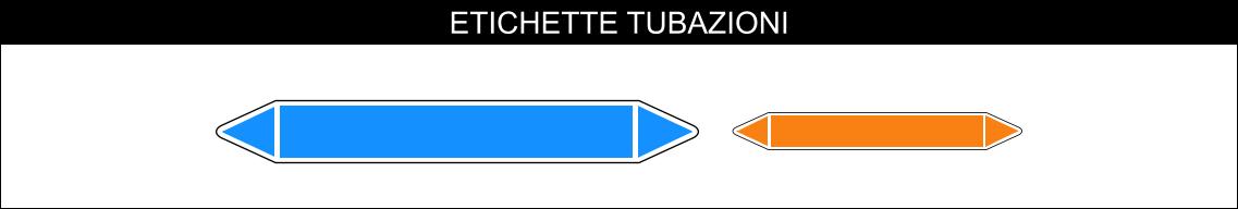 ETICHETTE PER TUBAZIONI