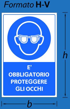 cartelli segnalatori obbligo serie 350 hv