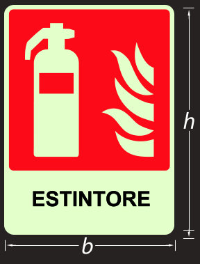 cartelli antincendio luminescenti 451