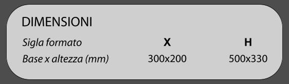 dimensioni cartelli segnalatori serie 601